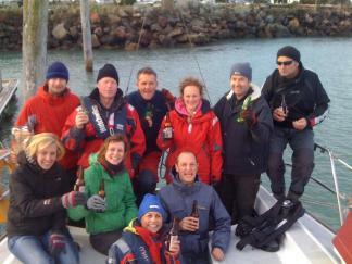The race crew