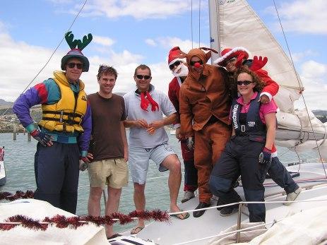 Christmas sailors