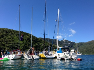 New Years Eve - Marlborough Sounds