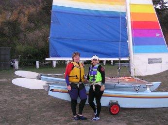 Sailing Hobie