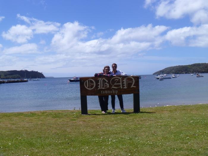Half Moon Bay Stewart Island Viki & Rosa