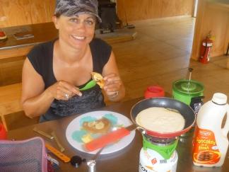 Jet Boil pancakes