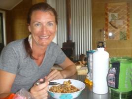 Dinner in the Hut