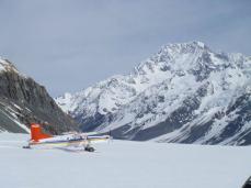 The snow plane