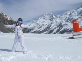 Mount Cook in the background