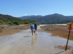 Estuary crossing Abel Tasman