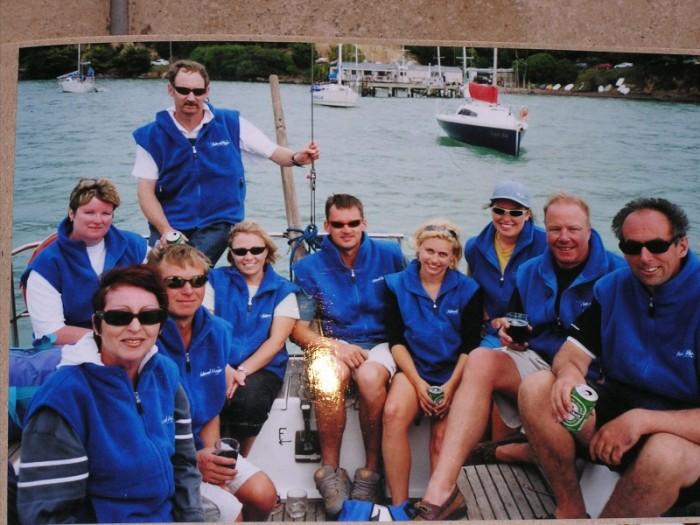 Erin, Vic, Dean, Ross, Rachel, Tony, Viki, Karen, Ivan & Craig