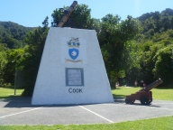 Captain Cook's memorial