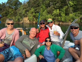 Rachel, Jon, Andrew, Vaughan, Naomi & Dean