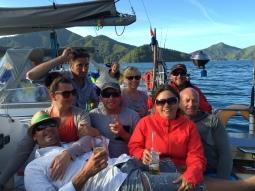 Nicci, Craig, Vaughan, Dean, Rachel, Viki, Jon & Andrew
