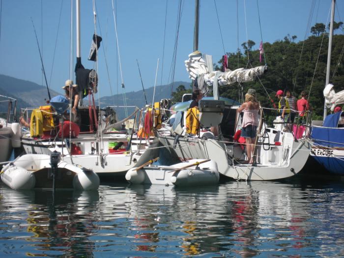 14. Cockle Cove raft