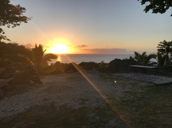Sunset in Niue