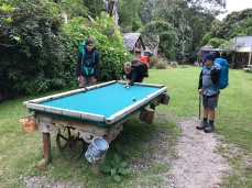 Stony Bay Cottages pool table