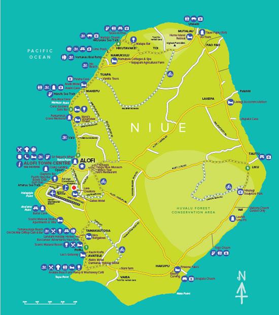 Niue-map